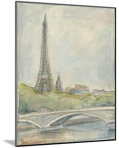 View of Paris III-Ethan Harper-Mounted Premium Giclee Print