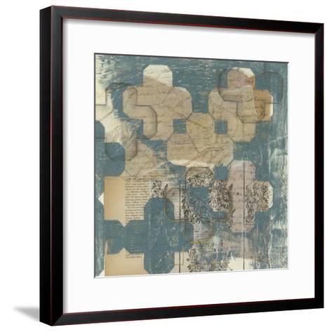 Deconstructed Quatrefoil II-Jennifer Goldberger-Framed Art Print