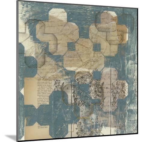 Deconstructed Quatrefoil II-Jennifer Goldberger-Mounted Premium Giclee Print