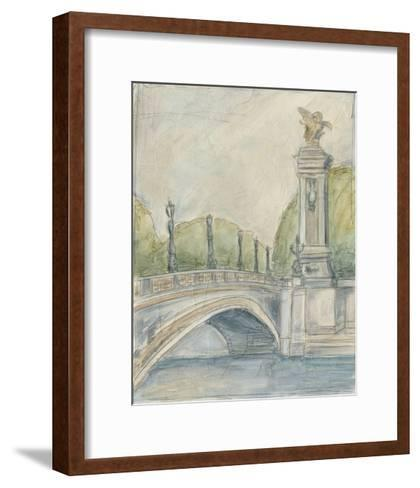 View of Paris V-Ethan Harper-Framed Art Print