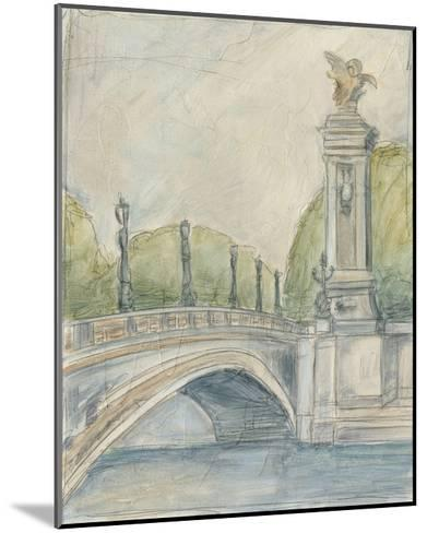 View of Paris V-Ethan Harper-Mounted Premium Giclee Print