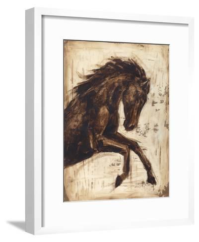 Weathered Equestrian II-Ethan Harper-Framed Art Print