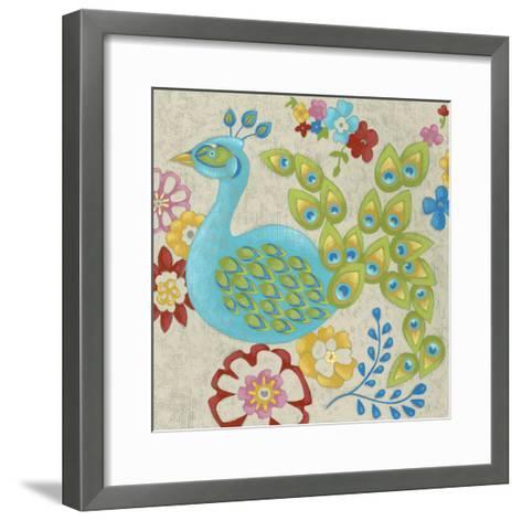 Flores II-Chariklia Zarris-Framed Art Print
