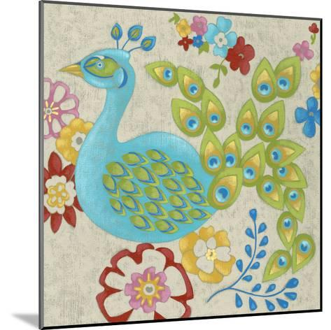 Flores II-Chariklia Zarris-Mounted Premium Giclee Print