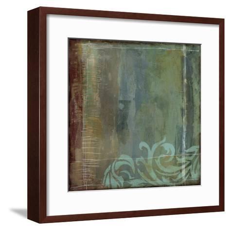 Lush Filigree IV-Jennifer Goldberger-Framed Art Print