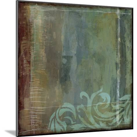 Lush Filigree IV-Jennifer Goldberger-Mounted Premium Giclee Print
