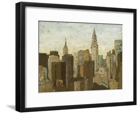 City and Sky II-Megan Meagher-Framed Art Print