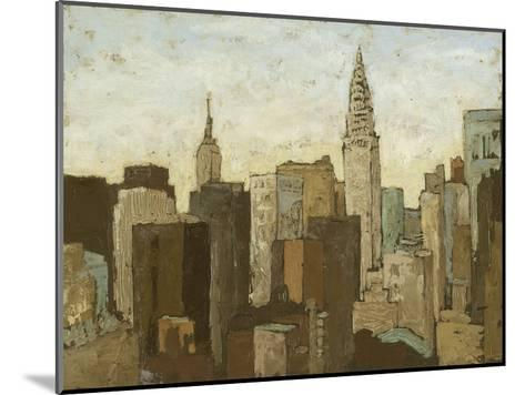 City and Sky II-Megan Meagher-Mounted Premium Giclee Print