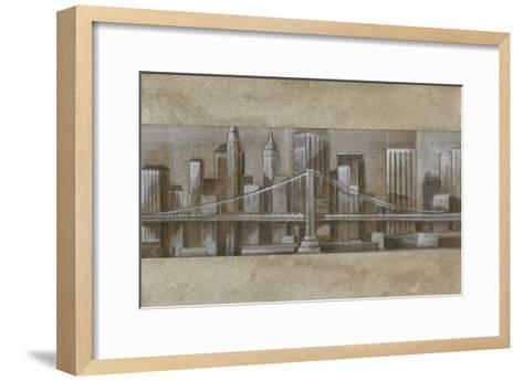 Silver Skyline I-Ethan Harper-Framed Art Print