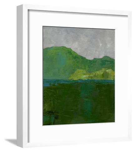 Blue Ridge II-Chariklia Zarris-Framed Art Print