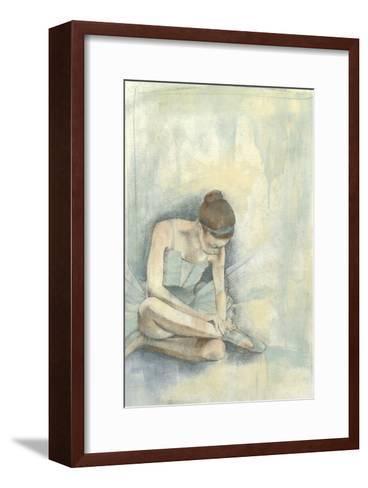 Ballerina Repose I-Jennifer Goldberger-Framed Art Print