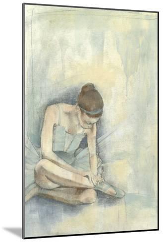 Ballerina Repose I-Jennifer Goldberger-Mounted Premium Giclee Print