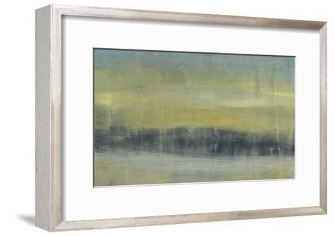 Abstracted Skyline II-Jennifer Goldberger-Framed Art Print