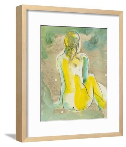 Figure in Relief I-Jennifer Goldberger-Framed Art Print