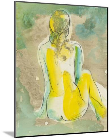 Figure in Relief I-Jennifer Goldberger-Mounted Premium Giclee Print