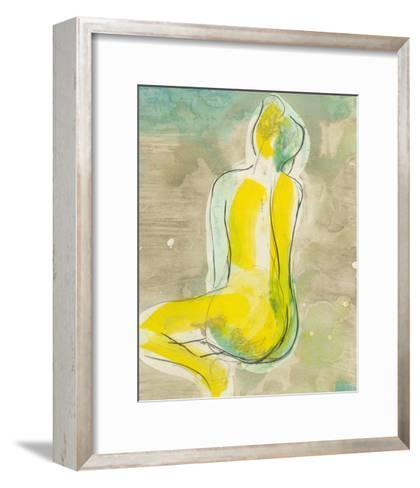 Figure in Relief II-Jennifer Goldberger-Framed Art Print