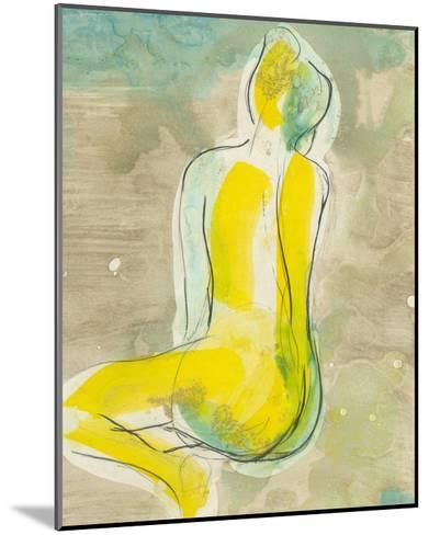 Figure in Relief II-Jennifer Goldberger-Mounted Premium Giclee Print