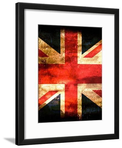 United Kingdom England Flag-Wonderful Dream-Framed Art Print
