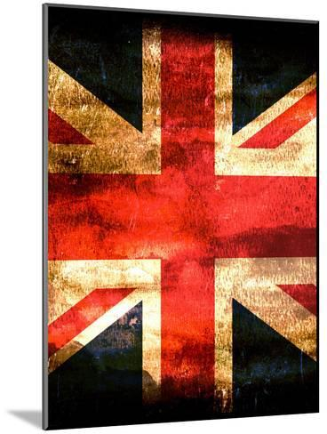 United Kingdom England Flag-Wonderful Dream-Mounted Art Print