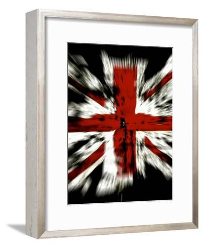 United Kingdom Flag-Wonderful Dream-Framed Art Print