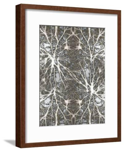 Neurons System Cell Medical-Wonderful Dream-Framed Art Print