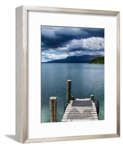 Beach Pier Holiday Travel-Wonderful Dream-Framed Art Print