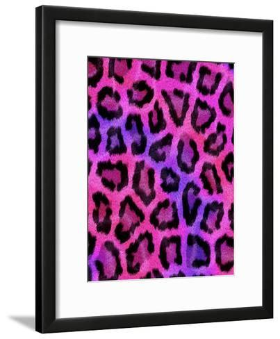 Colorful Pattern Animal Style-Wonderful Dream-Framed Art Print