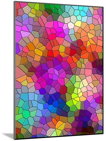 Colorful Abstract Mosaic Style-Wonderful Dream-Mounted Art Print