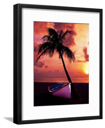 Holiday Travel Beach Nature-Wonderful Dream-Framed Art Print