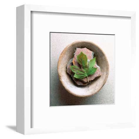 Garden Leaf-Glen and Gayle Wans-Framed Art Print
