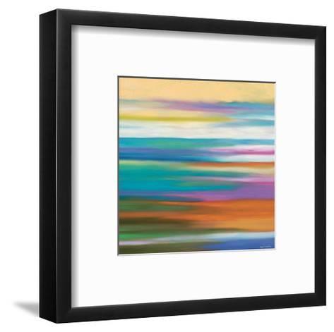 Painted Skies 4-Mary Johnston-Framed Art Print