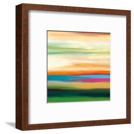Painted Skies 3-Mary Johnston-Framed Art Print