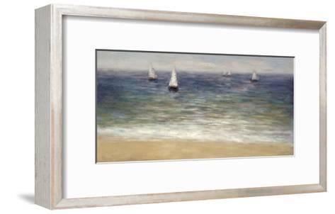 White Sails-John Young-Framed Art Print