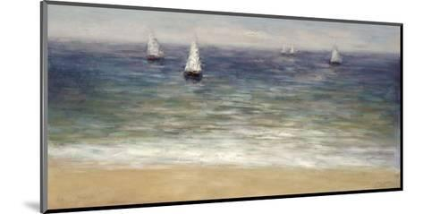 White Sails-John Young-Mounted Giclee Print