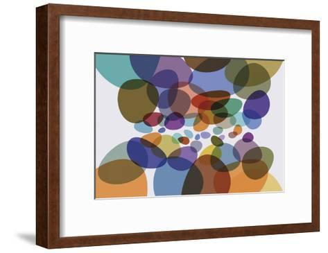 Cosmosis 5-Barry Osbourn-Framed Art Print