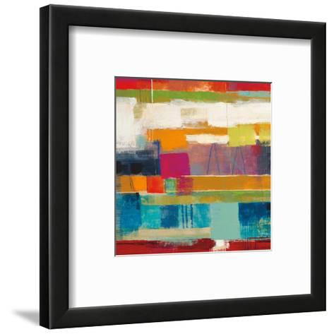 Convergence-Ursula Brenner-Framed Art Print