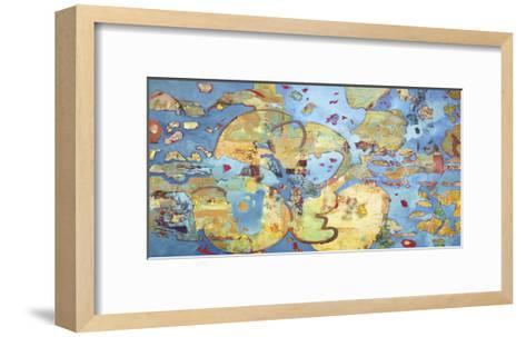 Cosmic Breakup-Judith D'Agostino-Framed Art Print