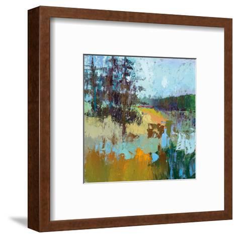 Smell Of Pines-Jane Schmidt-Framed Art Print