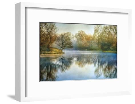 Blue Mist-Diane Poinski-Framed Art Print