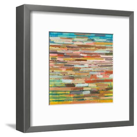 Striped Layers-Don Wunderlee-Framed Art Print