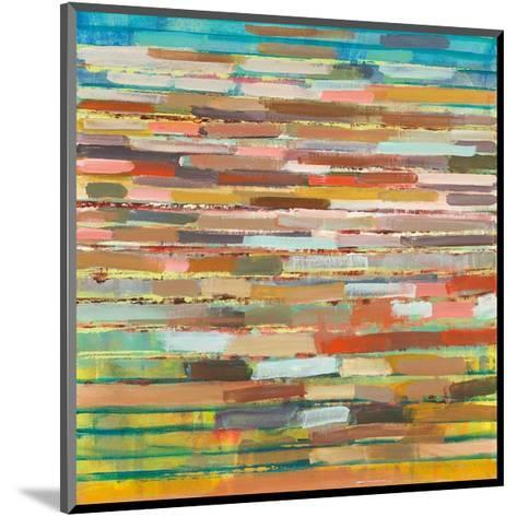 Striped Layers-Don Wunderlee-Mounted Giclee Print