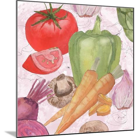 Veggie Medley II-Leslie Mark-Mounted Art Print