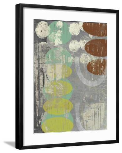 Circles Circle I-Jennifer Goldberger-Framed Art Print