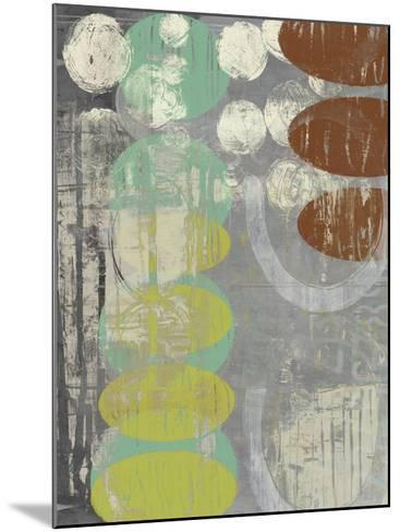 Circles Circle I-Jennifer Goldberger-Mounted Art Print