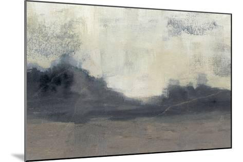 Mountain Silhouette II-Jennifer Goldberger-Mounted Giclee Print