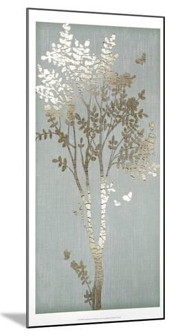 Sage Silhouette I-June Erica Vess-Mounted Art Print