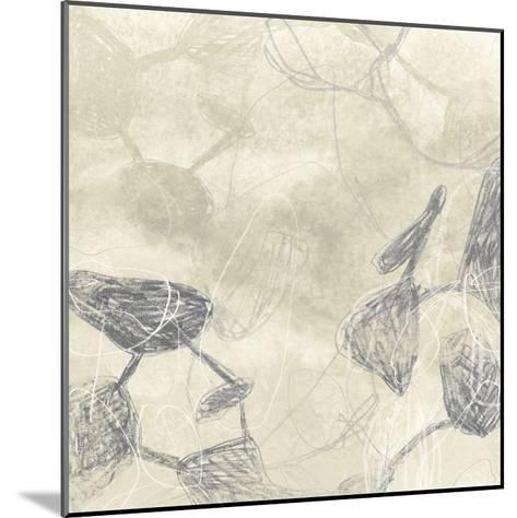Graphite Inversion I-June Erica Vess-Mounted Giclee Print
