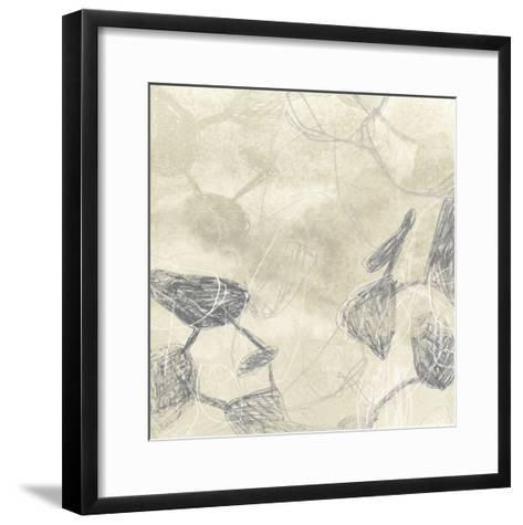 Graphite Inversion I-June Erica Vess-Framed Art Print