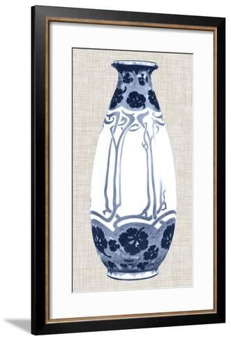 Blue & White Vase II-Unknown-Framed Art Print