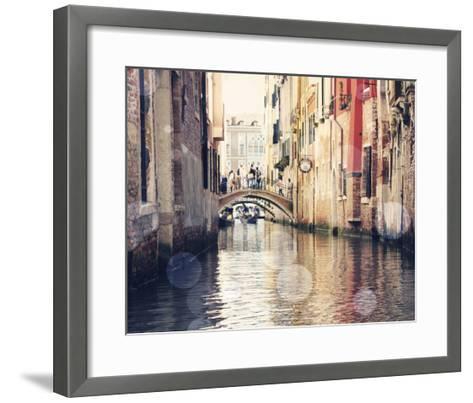 Venice Bokeh XIV-Sylvia Coomes-Framed Art Print